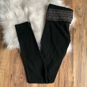 Victoria's Secret Black Straight Leg Yoga Pants